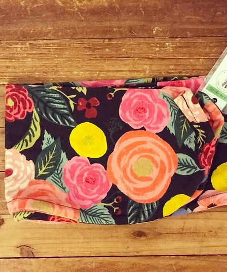 ワイヤーターバン*cotton アマゾンに咲く花