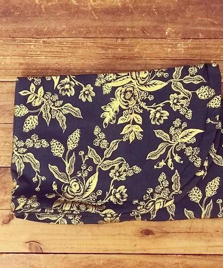 ワイヤーターバン*cottonGoldの花
