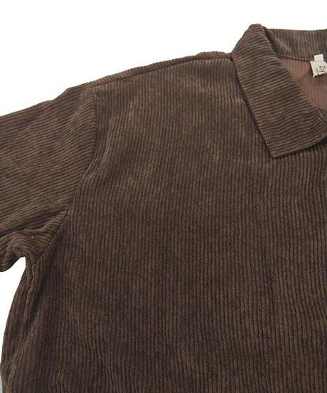 コーデュロイシャツ:2色展開