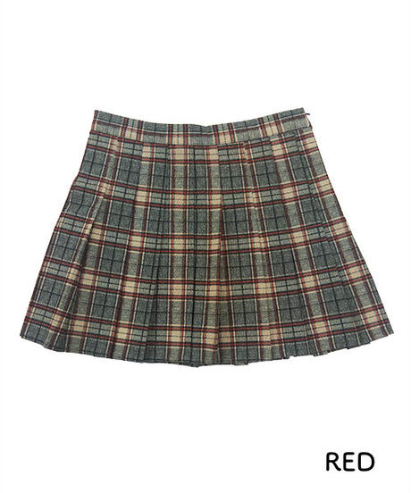 プリーツミニスカート:4色展開