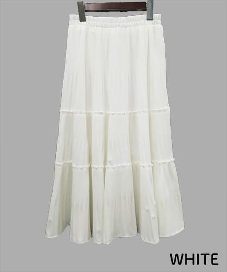 ティアードスカート:4色展開