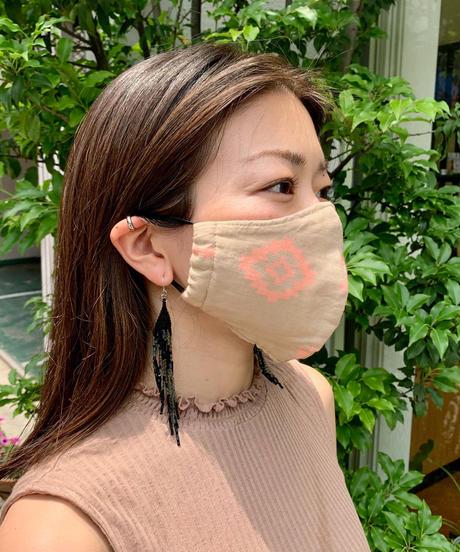 抗菌防臭マスク  ネイティブ  / ピンク(オーガニックコットン )