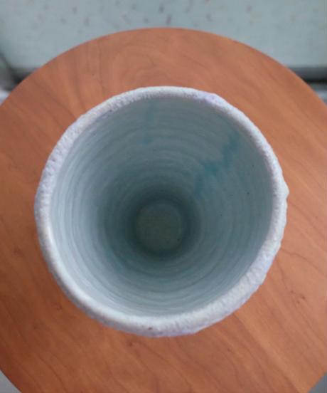 Lina E Ceramics 011: crater blue×purple