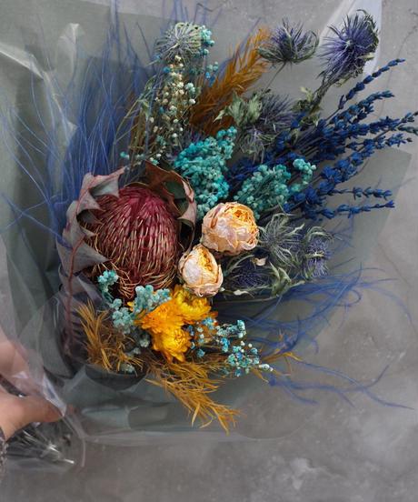 Dried flower Bouquet:Medium