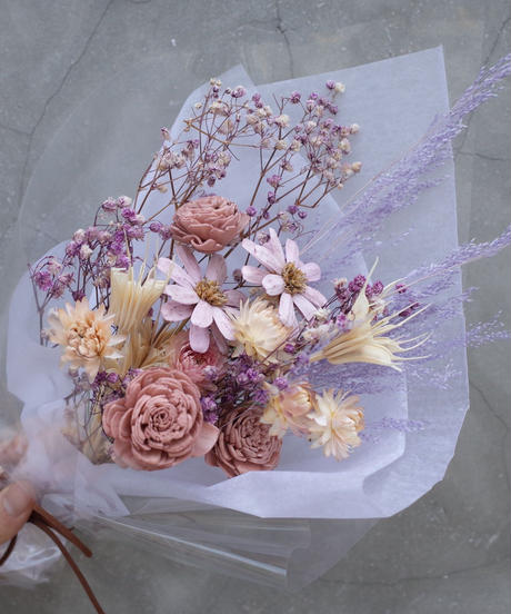 Dry Flower Bouquet:mid-small