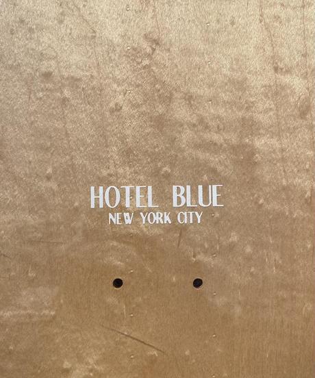 HOTEL BLUE COFFEE DECK 8inch