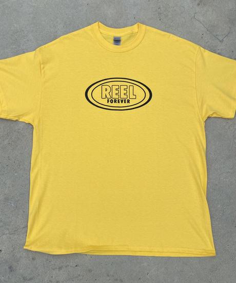 YU-MAZUME   Reel Forever S/S Tee  yellow