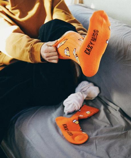 EAZY MISS Beer socks / Orange