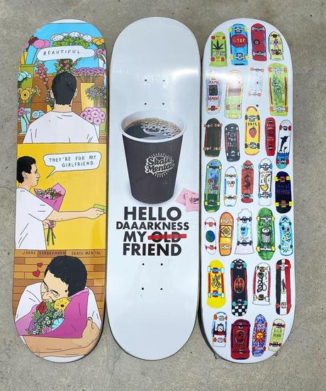 Skate Mental Bramsmark My Friend Deck