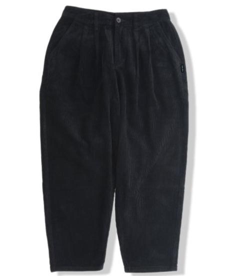 EAZY MISS LOOSE CORDUROY PANTS   Black
