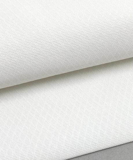 憧れの白い夏帯!使いやすくシンプルな小菱紋紗名古屋帯[紅衣オリジナル] ※ガード代、手縫い仕立て代込み