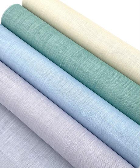夏以外も着られる自宅で洗える、4色から選べる麻の長襦袢※手縫いマイサイズ仕立て