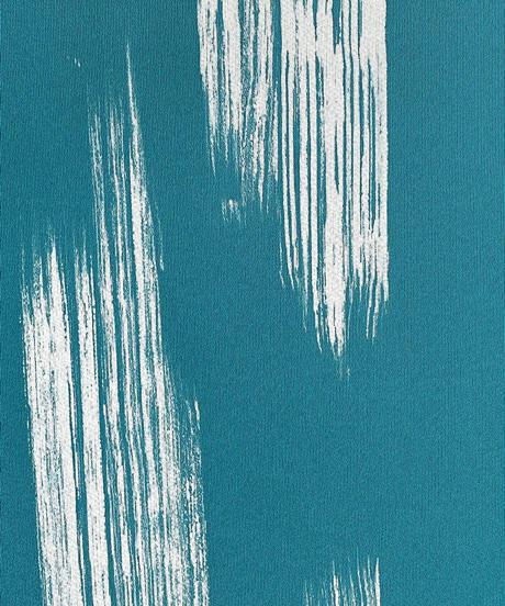 染め九寸名古屋帯 しけ引きと刺繍の融合 錆納戸色 [紅衣オリジナル]