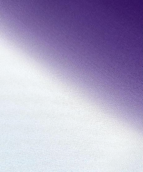 艶帯揚げ 二色暈し 今紫×白縹 [紅衣オリジナル]