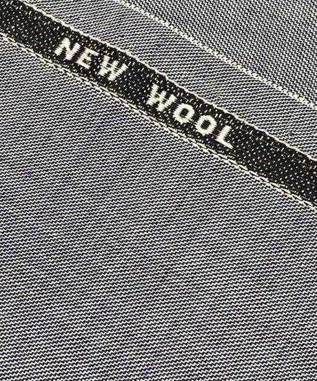 男性のスーツの生地で仕立てる着物 青みがかった柔らかいライトグレー(手縫い仕立て代込み)