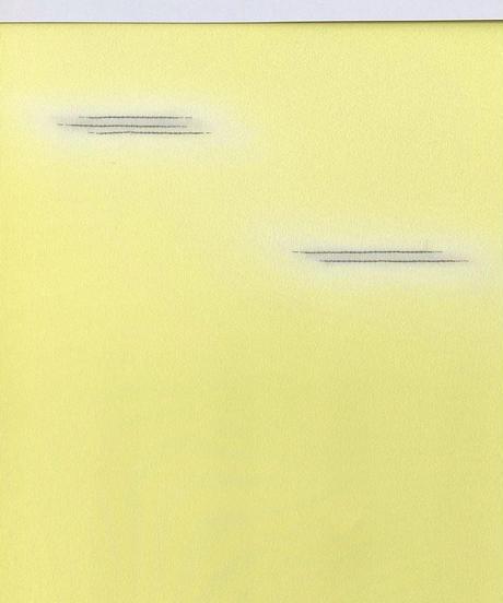 染め九寸名古屋帯 霞暈しレモンイエロー×グレージュ [紅衣オリジナル]