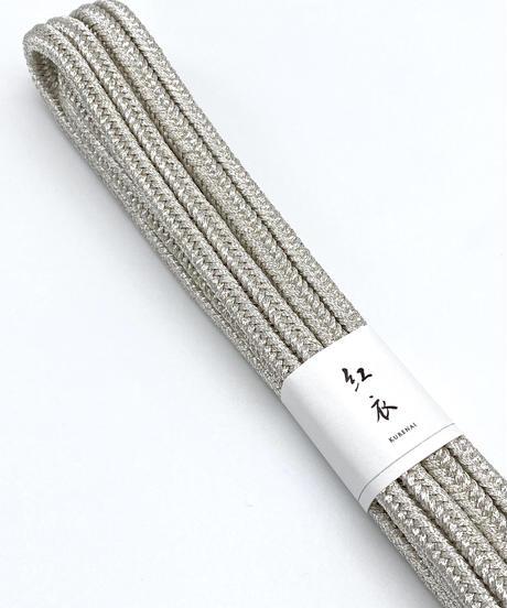 ゆるぎ組 ハンサム銀糸 [紅衣オリジナル]手組み