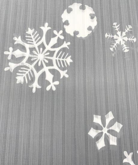 雪尽くし浴衣 [紅衣オリジナル配色](仕立て代込み)