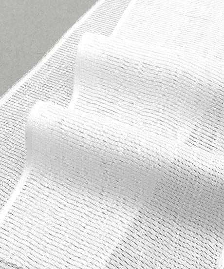 見た目も着用感も涼やか!麻の絽の半衿(白)