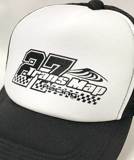 鈴鹿8時間耐久ロードレース TransMapRacing応援グッズ メッシュキャップ