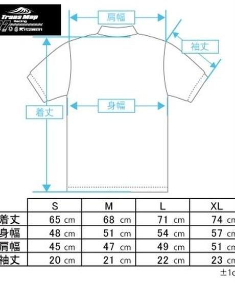 2019 鈴鹿8時間耐久ロードレース TransMapRacing with ACE CAFE 応援グッズ TEAMレプリカ POLOシャツ