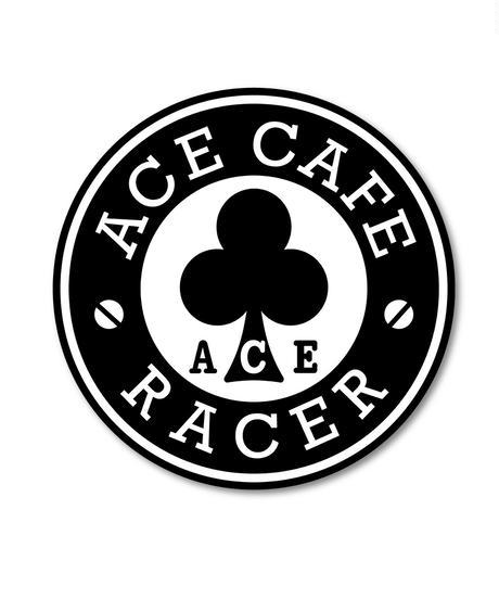 N020DE/ACE CAFE RACER デカール・Racerサークル・200