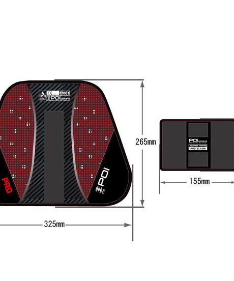 OPC-01-PRO/L スポーツチェストプロテクター CE
