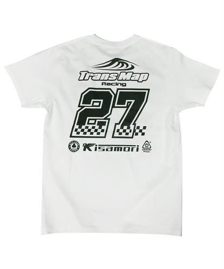 2018鈴鹿8時間耐久ロードレース TransMapRacing応援グッズ TEAMレプリカ コットンTシャツ