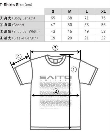 SAITO GUITARS T-Shirt / White