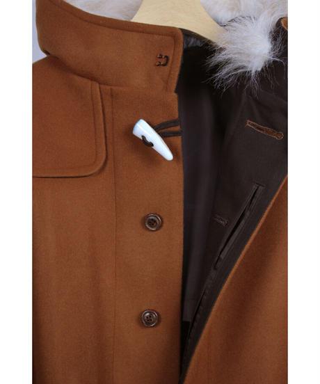 jk-52C  camel duffle coat