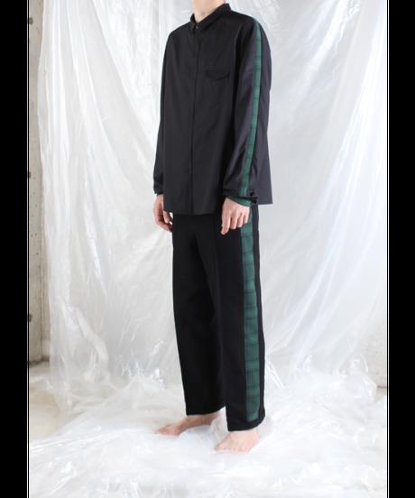 st-49B   black raglan shirts