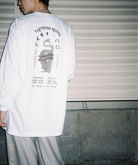 [NERVOUS FICTIONS SERIES]   LAZY SUNS HOTEL   L/S T-Shirt