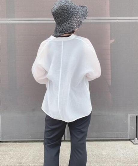Paper knitting  hat