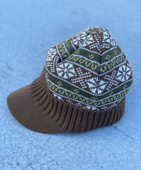 Ortega pattern Knit Cap