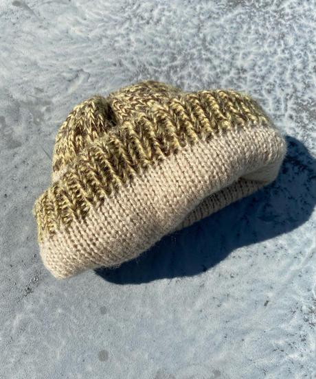 Argyle pattern Knit watch