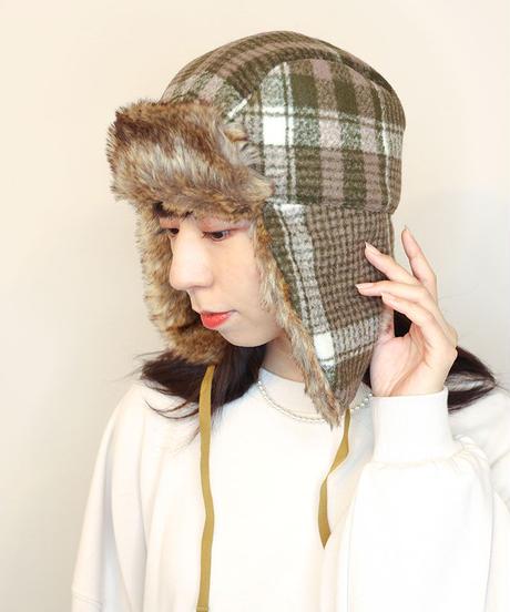 Plaid Flight Hat