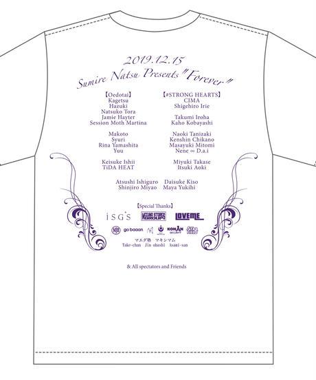 夏すみれ自主興行『Forever』大会記念Tシャツ