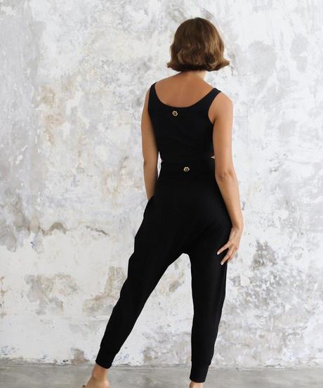 Indo Pants Black (ボトムス)