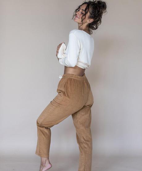Livia Cord Trousers walnut