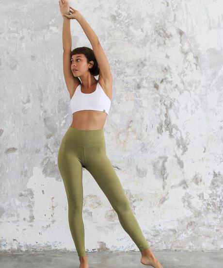 Organic Ananda Legging Olive  (レギンス)