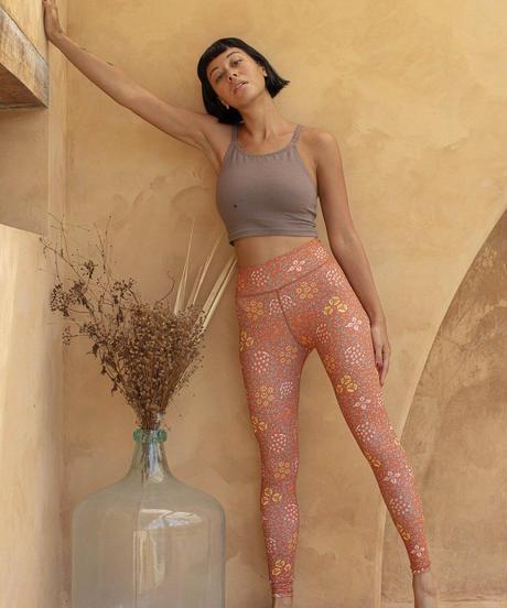 Batik Leggings Sari Ochre