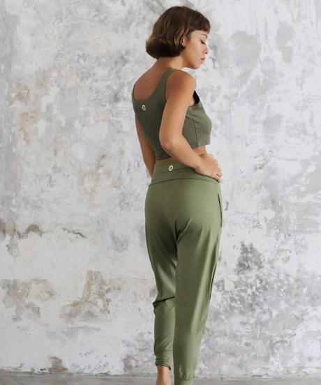 Indo Pants Kale (ボトムス)