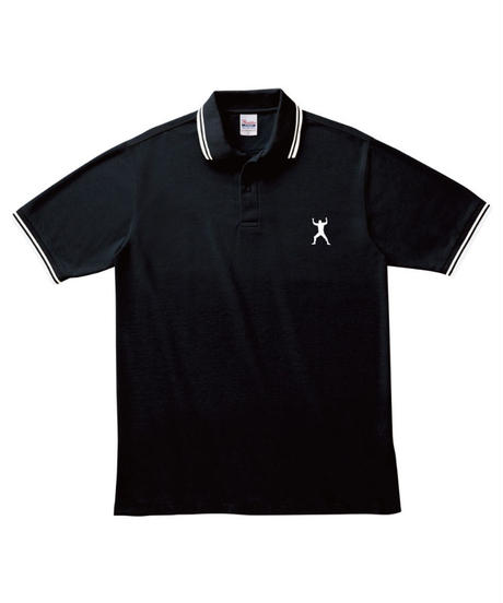 武藤敬司「LOVEポーズ」刺繍ラインポロシャツ