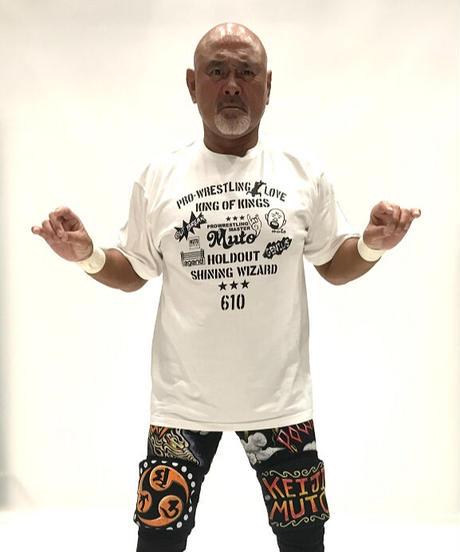 武藤敬司「シンボル」Tシャツ