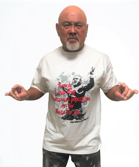武藤敬司「LOVEポーズ」Tシャツ