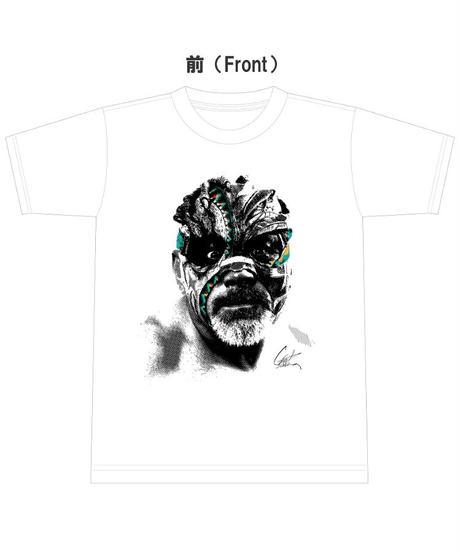 グレート・ムタ「インディアン復刻ver.」Tシャツ