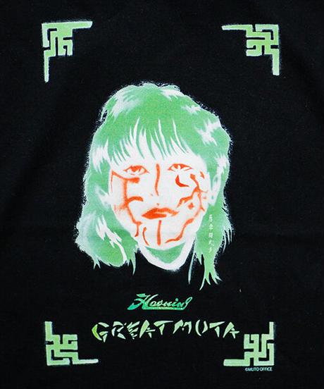 【受注生産】Haoming × グレートムタ「Spray art 」Tシャツ ※KEIJI MUTO OFFICIAL SHOP 限定カラー