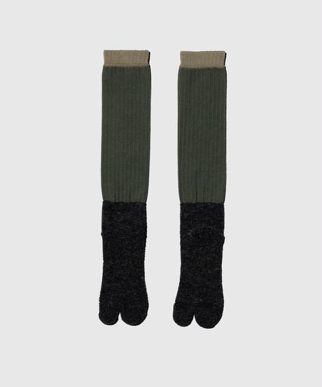 01_18 FISHING SOCKS (High length/Japanese socks with split toe)