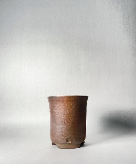 伝市鉢・シャジン型3.5号(登り焼)