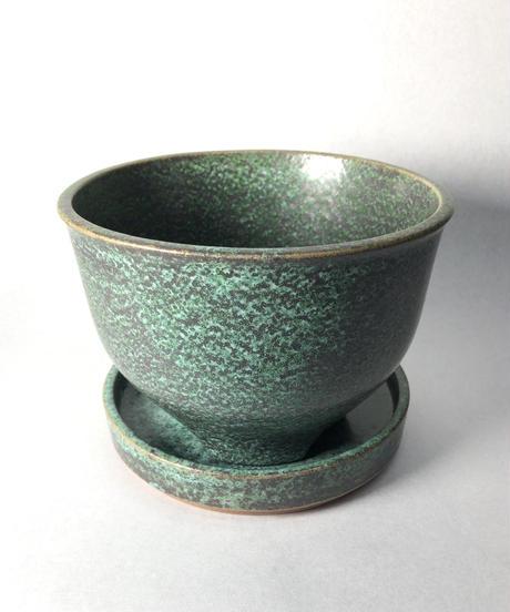 黒青銅皿L